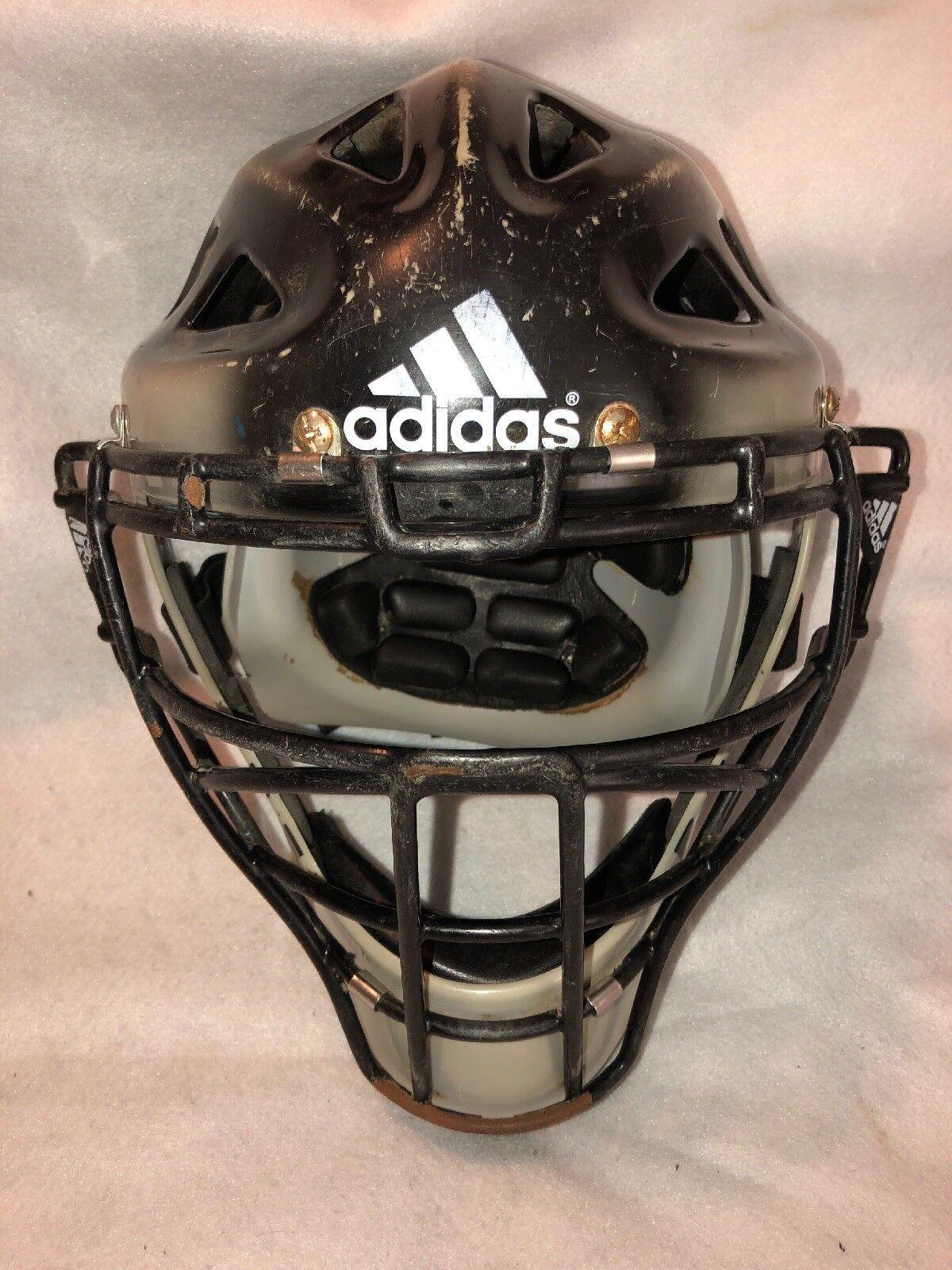 ADIDAS Phenom Catchers Helmet Mask Size 7 - 7 3 4 ItemBTE00041 Nice Free Ship