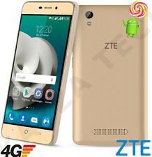 """ZTE Blade A452 5"""" IPS Gold Unlocked SimFree 4G LTE Android 5.1 Phone SmartPhone"""