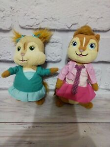 ELEANOR & Brittany Alvin and the Chipmunks Ty Beanie Baby Plush Stuffed Toy
