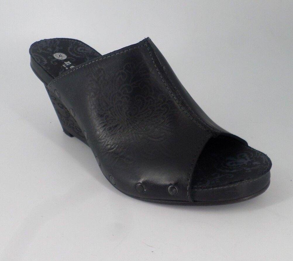 NEOSENS Moscatel S283 Negro Sandalias Cuñas tintadas Talla NH08 83 Ventas