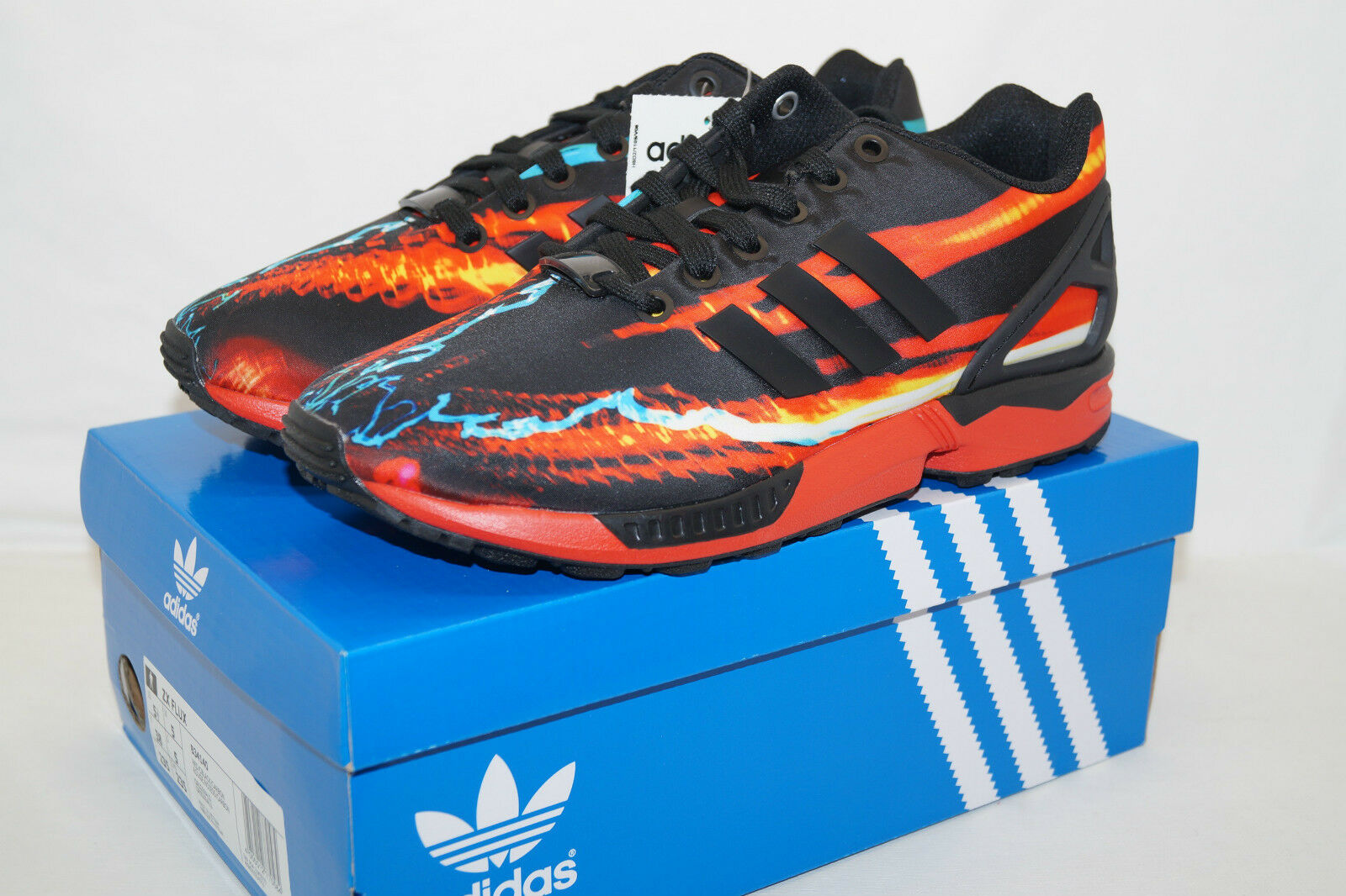 Adidas Originals Zx Flux Torsion Gr.38 UK 5 B34140 Running Jogging Walking Gym