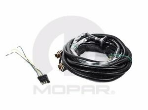07 11 dodge caliber new trailer tow wiring harness kit 4 way mopar image is loading 07 11 dodge caliber new trailer tow wiring