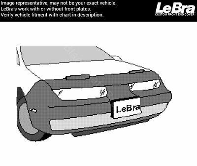 Black LeBra Front End Cover Saturn SC//SL Vinyl
