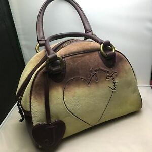 Image Is Loading Juicy Couture Tye Dye Velour Bowler Bag Bowling