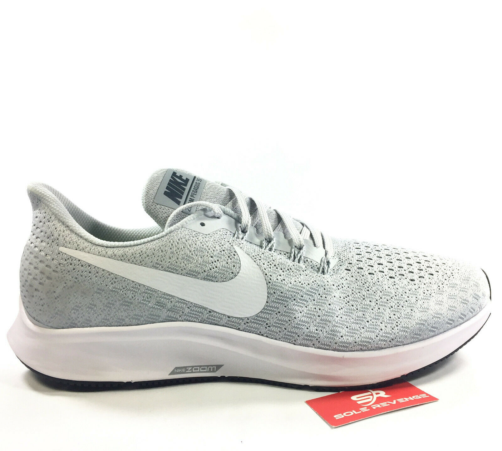 NIKE AIR ZOOM PEGASUS 35 shoes 3905002 Pure Platinum White Wolf Grey Cool c1