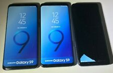 LOT OF 3 Samsung Galaxy S9  Dummy Phone - Non-working - Display Toy Demo AS-IS