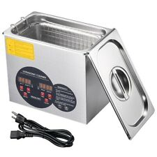 3l Stainless Steel Industry Sonic Heated Ultrasonic Cleaner Heater Withtimer Tool