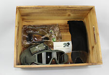 New US Army Genuine Issue Revision Foliage Green Desert Locust Military Goggles