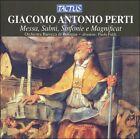 Perti: Messa, Salmi, Sinfonie e Magnificat (CD, Aug-2007, Tactus)
