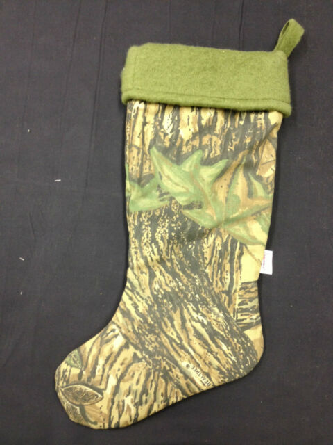 New Realtree Camo Christmas Stocking Fleece liner Comeaux ...