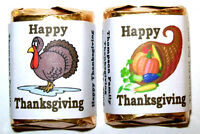 60 Thanksgiving Candy Wrappers Favors - Nice