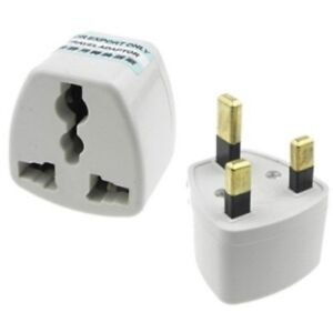 Image is loading 3-amp-2-PIN-UNIVERSAL-TO-UK-PLUG-