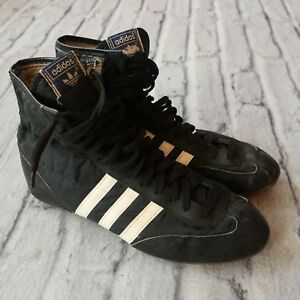 the latest 2c2c7 1d17c Image is loading Vintage-Adidas-Hercules-Wrestling-Shoes-Size-8-5