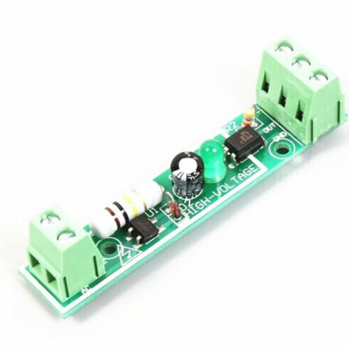 2PCS 1-Bit AC 220V Optocoupler Isolation Module Testing Adaptive for PLC new