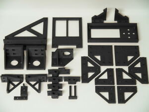 Anet-A8-to-AM8-Conversion-Kit-Metal-Frame-Rebuild-Kit-Parts-Umbausatz-Teile-ABS