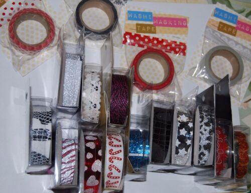 Stick-A-Bilities  and more Sparkle /& Glitter Tape Washi Masking Tape NIP