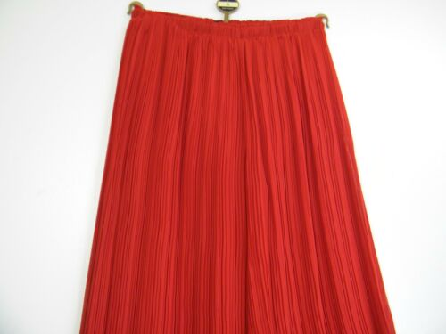 SALOOS FINE PLEATED LINED 100/% POLYESTER PLAZZO PANTS 2 COLS SIZES S M L XL XXL