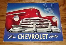 Original 1946 Chevrolet Full Line Sales Brochure 46 Chevy Fleetline Fleetmaster