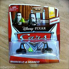 Disney PIXAR Cars MARCELO & MARCO CHASE! 2014 LEMONS diecast 7&8/8 mob party hat