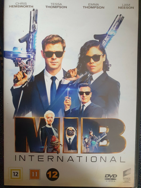 MIB International, DVD, komedie