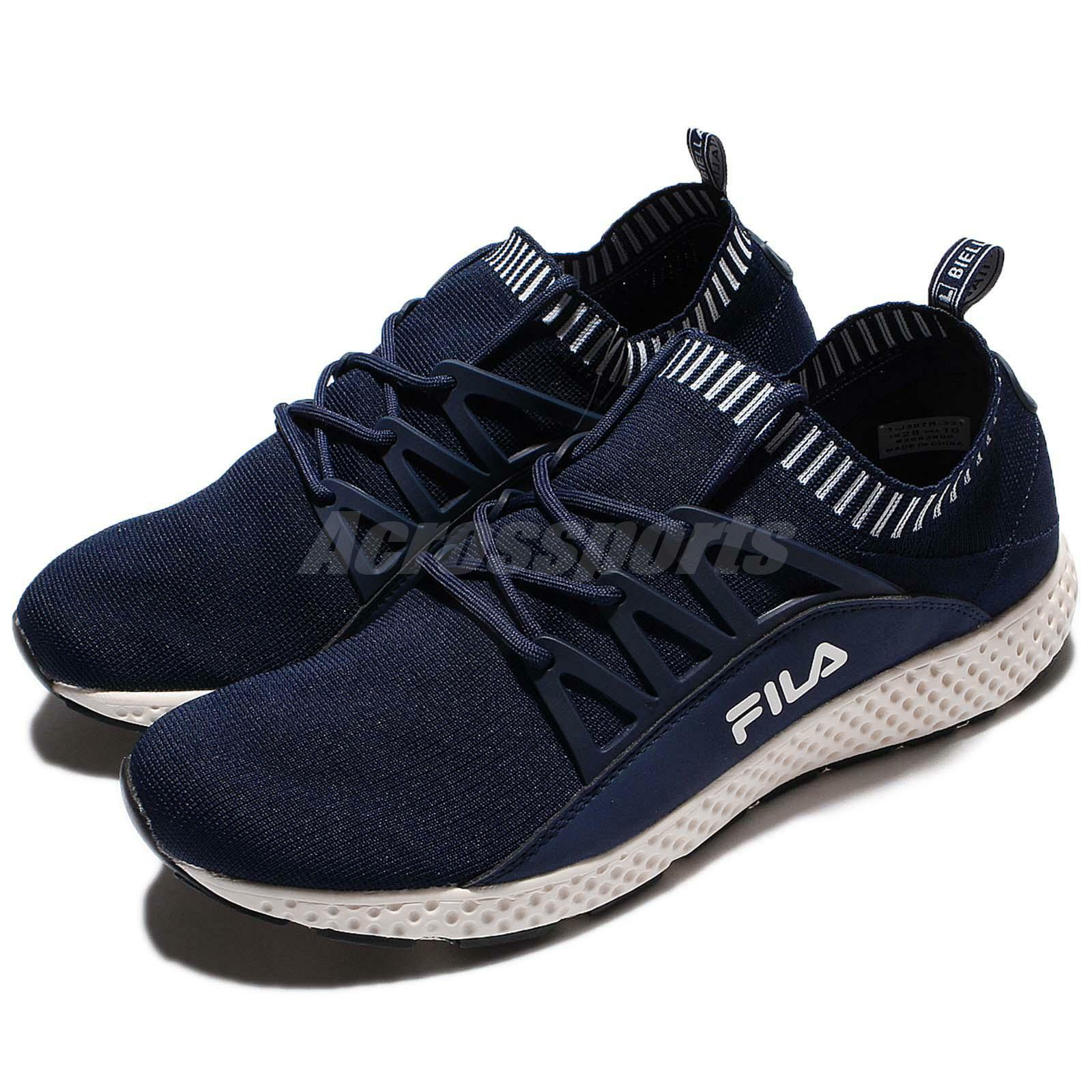 FILA J307R Navy White Men Running Shoes Slip-On Sneakers Trainers 1-J307R-331 The latest discount shoes for men and women
