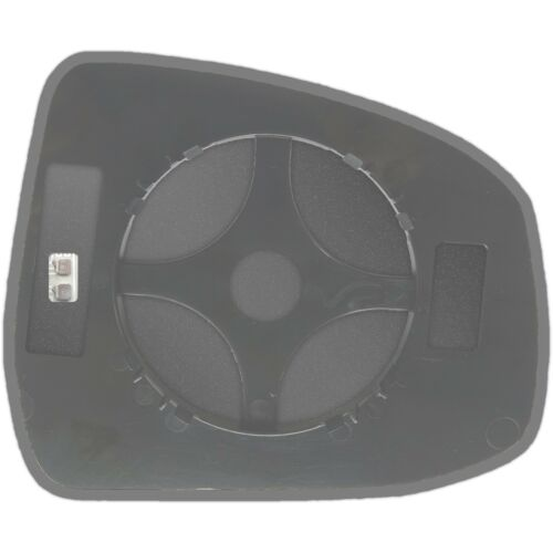 Ford Mondeo 2007-2014 Lado Izquierdo Espejo Ala Climatizada Cristal /& Placa 134 lshp
