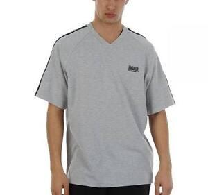 Pull Homme Blanc Lonsdale T-shirt en coton tailles XS /& M
