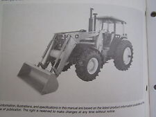 John Deere 280 Farm Tractor End Loader Operators Manual