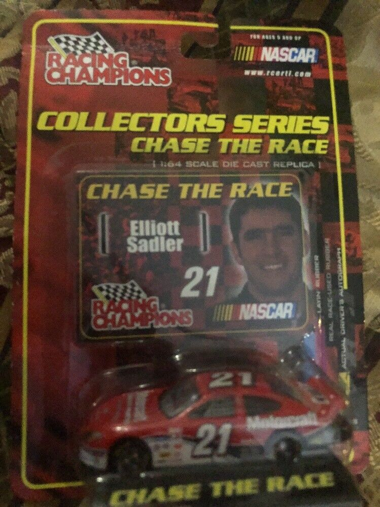 Racing Champions Elliot Sadler Collectors Series Chase The Race Free Shi