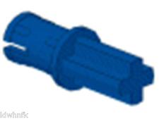 LEGO Mindstorms Blue Technic Axle Pin w/Friction Ridges Lengthwise #43093 x50