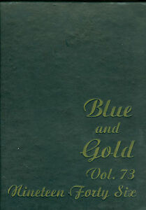 1946 Berkeley University of California, Blue & Gold Yearbook, 453 Pages