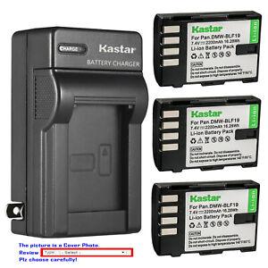 Kastar-Battery-AC-Wall-Charger-for-Panasonic-DMW-BLF19-BLF19E-amp-Lumix-DMC-GH3GK