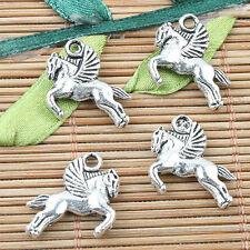 12pcs tibetan silver 2sided Chinese gold-ingot design charms EF1597