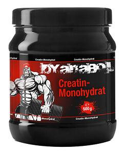 Dyanabol-Creatin-500g-Monohydrat-Geschmacksneutral-Vegan-Kreatin-Muskelaufbau