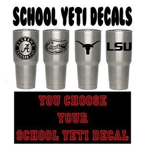 bf6dcc27000 University College Vinyl Decal 4 Your Yeti Cup Show Team Spirit 30 ...