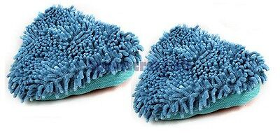 To fit VAX Hard Floor Master S2 Steam Cleaner Washable Coral  Mop Cloth Pad 2 pk