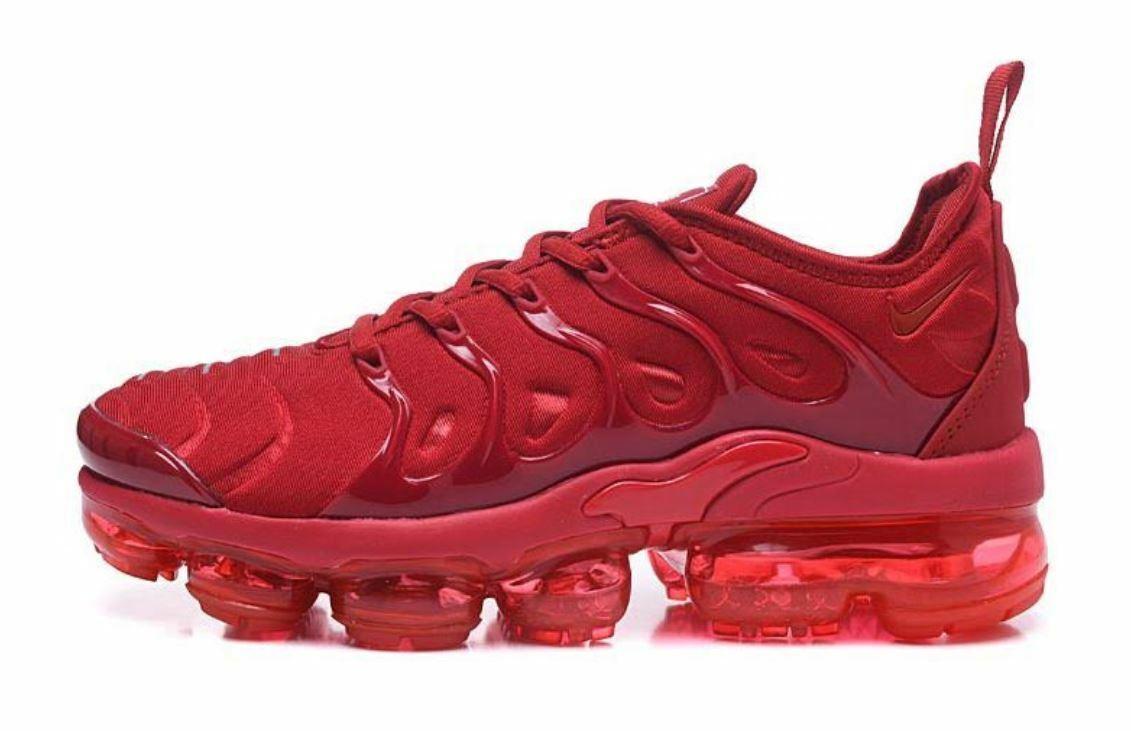 c9dbd24aea9 MENS TRIPLE RED NIKE MAX PLUS 7-11 VAPOR nxkqpo1462-Athletic Shoes