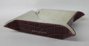 ASPINAL-OF-LONDON-Mini-Tidy-Tray-Purple-Croc-Print-Leather-Trinket-Holder