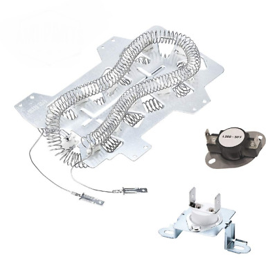 Dryer Heating Element for Samsung DV350AEW//XAA-0000 Dryer 1 Pack