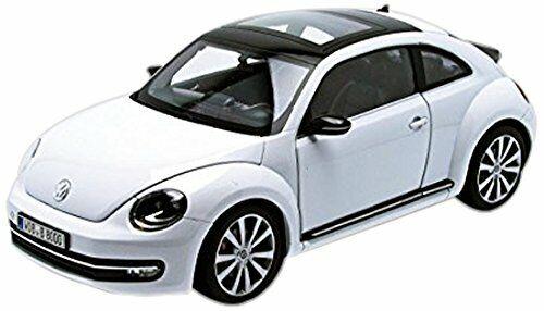 Volkswagen VW Beetle 2012 White 1:18 Model 4648 WELLY