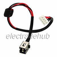 Toshiba Satellite L670 L675 L675d Ac Dc Power Jack Socket Cable Harness Cj82