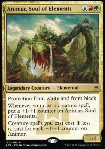 soul of elementsPresque comme neufMasters 25magic mtg Animar