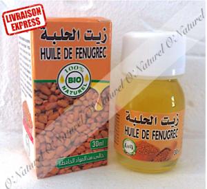 Huile-de-Fenugrec-BIO-100-Pure-30ml-Fenugreek-Oil-Aceite-de-Fenogreco