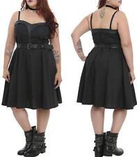 0X 0 12 TRIPP black SWEETHEART rockabilly Pin Up gothic SWEETHEART torrid DRESS