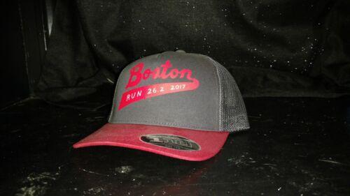 NEW THE NORTH FACE Mudder Boston Marathon 2017 Trucker Mesh Snapback Hat men