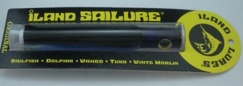 "ILand Lure SA301-BL//BK Sailure  5.5/"" Blue Black with Blue Colored Head 21034"