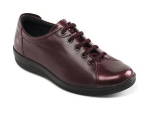 3 Comfort Up Fitting Winter Galaxy Leather 2 Size 9 Lace E Padders Shoe Wine A0qPwYn