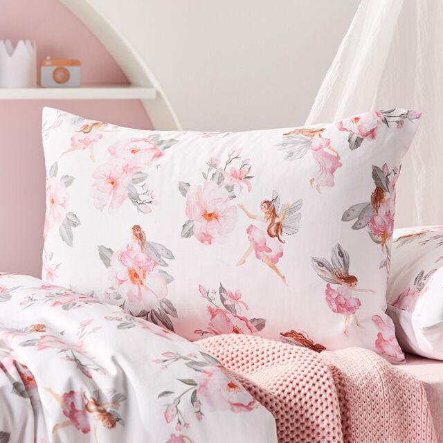 Adairs Kids Batgirl Pink Single Quilt Cover Set BNIP RRP $99.99
