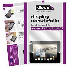 2x Acer Iconia Tab A1 Pellicola Prottetiva Transparente Proteggi Schermo