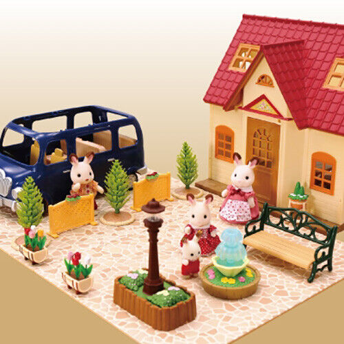 Sylvanian Families STONE PAVEMENT Fan Club Epoch Japan Calico Critters